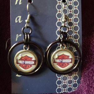 Jewelry - Chainmaille Harley Davidson Earrings